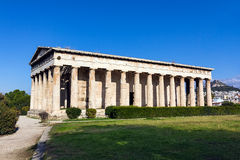 Hephaestus temple Athens Stock Photos
