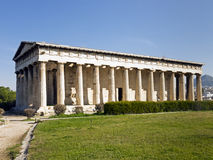 Hephaisteion ( Temple of Hephaistos and Athena ) Royalty Free Stock Photos