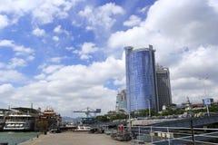 Heping (和平)码头, amoy城市,瓷 免版税库存照片