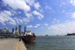 Heping ferry terminal in amoy city Royalty Free Stock Photo
