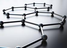 Heptahedrons Stockbilder
