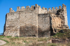 Heptapyrgion of byzantine walls Stock Photo