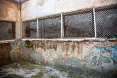 Heptapyrgion of byzantine walls Stock Photography