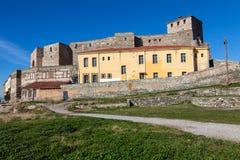 Heptapyrgion of byzantine walls Stock Photos