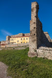 Heptapyrgion of byzantine walls Royalty Free Stock Images