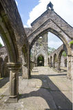 Heptonstall-church-interior-arches Stock Photos