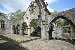 Heptonstall-church-interior-3 Royalty Free Stock Photography