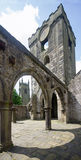 Heptonstall-church-looking-up Stock Images