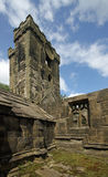 Heptonstall-church-tower-exterior Stock Photography