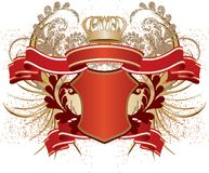 Heráldica ilustração royalty free
