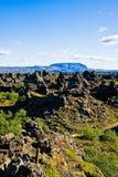 Herðubreið e Dimmu Borgir, Islândia do norte. Imagens de Stock