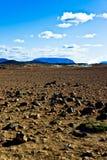 Herðubreið van Hverir Namafjall. Royalty-vrije Stock Foto