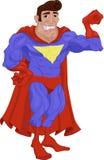 Herói ilustração stock