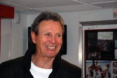 Herói canadense do hóquei, Paul Henderson Imagem de Stock Royalty Free