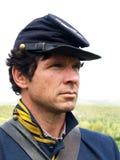 Herói da guerra civil fotografia de stock royalty free