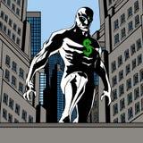 Herói do dólar na cidade Fotos de Stock