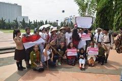 Herói do Memorial Day em Semarang Fotografia de Stock