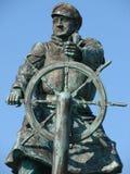 Herói do salvamento do barco salva-vidas Fotos de Stock