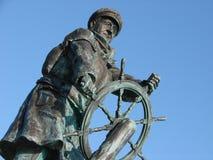 Herói do salvamento do barco salva-vidas Fotografia de Stock Royalty Free