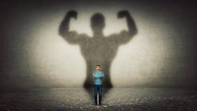 Herói poderoso imagens de stock royalty free
