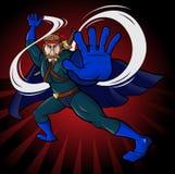Herói super Imagem de Stock Royalty Free