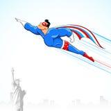 Herói super americano Imagens de Stock Royalty Free