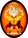 Herói super forte Imagem de Stock Royalty Free