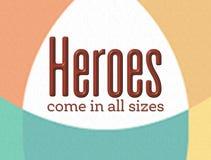 heróis Imagem de Stock