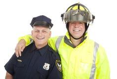 Heróis do colar azul isolados Fotografia de Stock Royalty Free