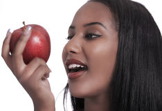 Her Apple Stock Photography