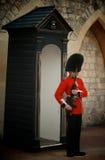 Royal Guards, Buckingham Palace, London Royalty Free Stock Photography