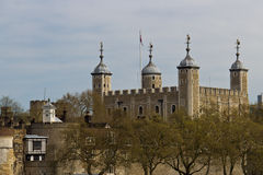 Her Majesty's Royal Palace and Fortress, known as the Tower of L Royalty Free Stock Photography