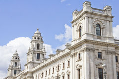 Her Majestys Treasury building Stock Photo