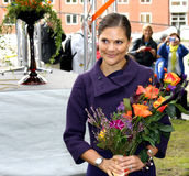 Her Royal Highness Crown Princess Victoria Royalty Free Stock Photography