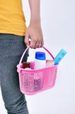 Her toiletries Royalty Free Stock Photo