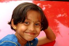 Her vibrant smile Royalty Free Stock Photos