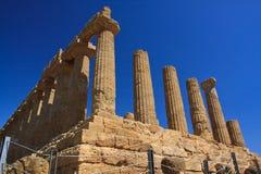 Hera świątynia - Agrigento Zdjęcie Stock