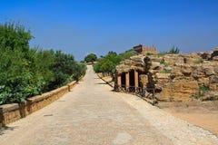 Hera świątynia - Agrigento Obrazy Stock