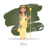hera Греческие боги вектор бесплатная иллюстрация