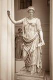 Hera a deusa do grego clássico Imagens de Stock Royalty Free