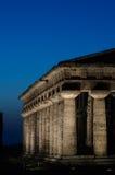 Hera II, Paestum寺庙  免版税库存图片