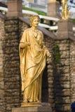 Hera (Juno) dans Peterhof Images libres de droits
