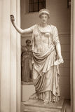 Hera la diosa del griego clásico Imágenes de archivo libres de regalías