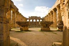 hera selinunte Sicily świątynia Obraz Stock