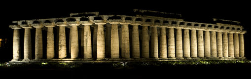 Hera temple royalty free stock photography