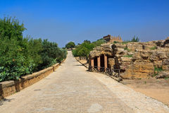 Hera temple - Agrigento Stock Images