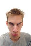 Herabhängendes Gesicht Stockfotos