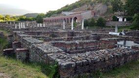 Heraclea Lyncestis, Bitola, Macedónia imagem de stock