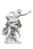 Heracles против Antaeus стоковая фотография rf