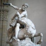 Heracles i Nessus Giambologna, Florencja (1599) Obraz Stock